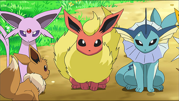 Team Eevee and the Pokémon Rescue Squad!