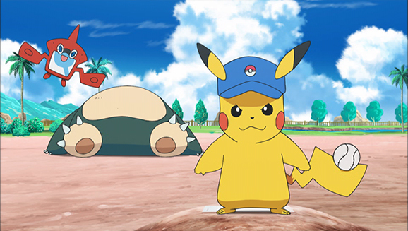 Baseball Pokémon con battuta pronta!