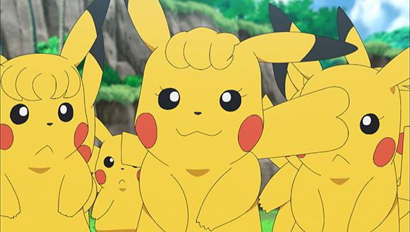 Pika-viele Pikachu!