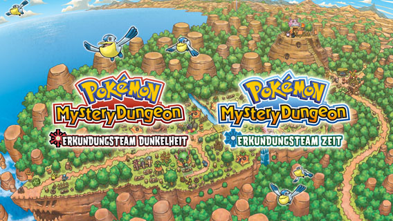 Pokémon Mystery Dungeon: Erkundungsteam Zeit und Pokémon Mystery Dungeon: Erkundungsteam Dunkelheit