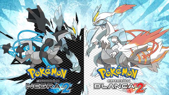 Pokémon Edición Negra 2 y Pokémon Edición Blanca 2