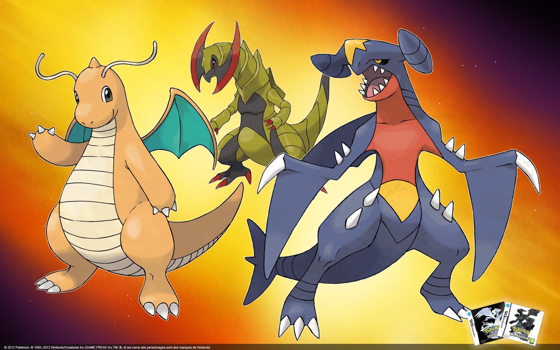 Dragon Type Pokemon Images | Pokemon Images