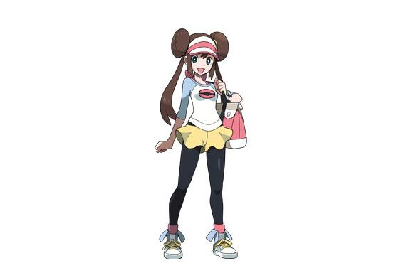 Pok mon version noire 2 et pok mon version blanche 2 - Pokemon noir et blanc personnage ...