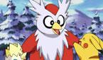 Le vacanze invernali di Pikachu: Dilemma Delibird / Pupazzo Snorlax