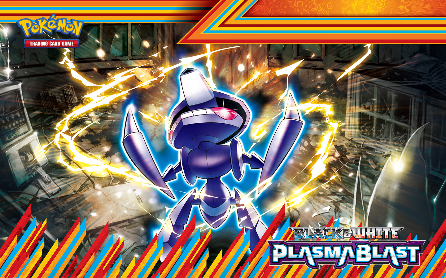 Plasma Blast Genesect Wallpaper