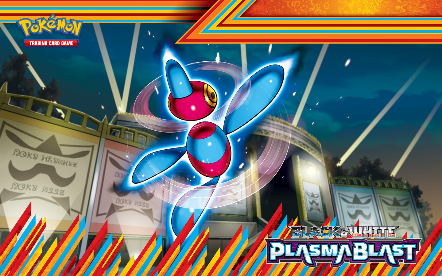 Plasma Blast Porygon-Z Wallpaper