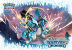 Pokémon TCG: <em>Black & White—Boundaries Crossed</em> Black Kyurem Wallpaper