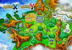 <em>Pokémon X</em> and <em>Pokémon Y</em> Kalos Region Wallpaper