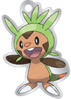 Chespin League charm