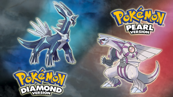Pokémon™ Diamond Version and Pokémon™ Pearl Version