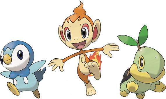 Pok mon platinum version pok mon video games - Pokemon platine evolution ...