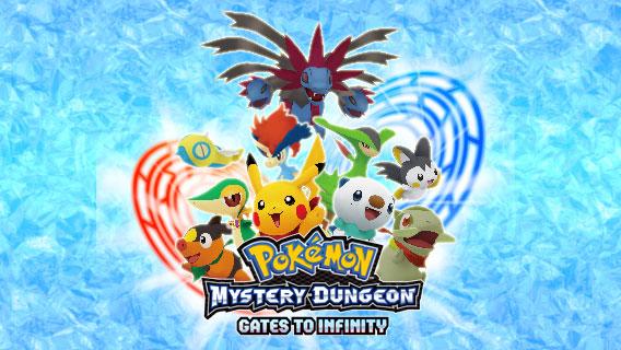 Nuevas imágenes y vídeo de Pokémon Mystery Dungeon: Gates