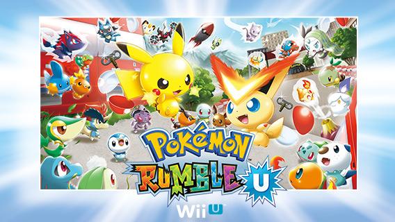 Promocion De Figuras Y Contrasenas De Pokemon Rumble U