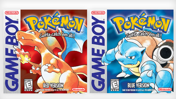 Image result for pokemon red/blue