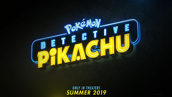 Logo Detektiv Pikachu