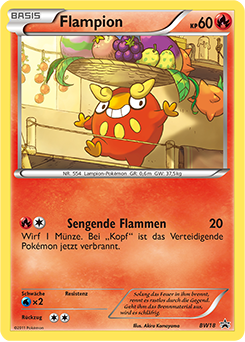 Flampion Pokédex