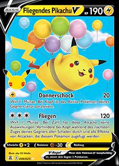 Fliegendes Pikachu V