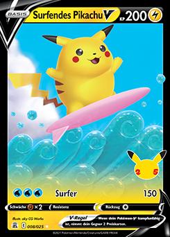 Surfendes Pikachu V