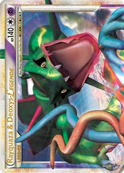 Rayquaza & Deoxys-LEGENDE