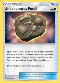 Unbekanntes Fossil
