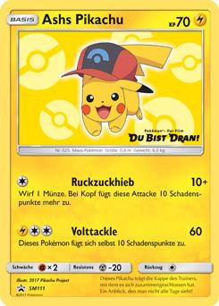 Ashs Pikachu