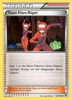 Team Flare-Rüpel