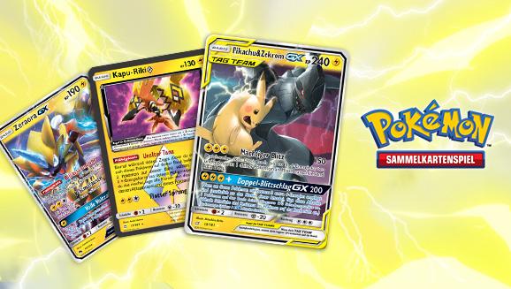 Pokemon Karten Gx Pikachu.Decktipps Zu Sonne Mond Teams Sind Trumpf Pikachu