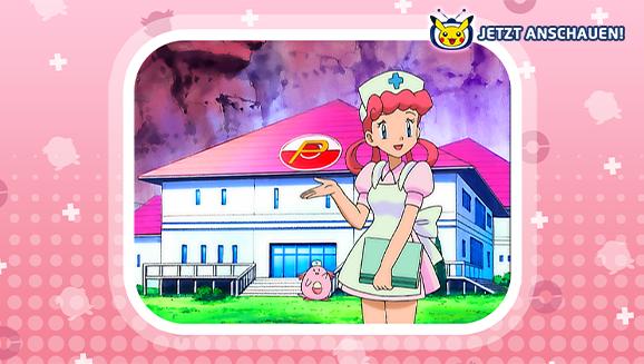 Schwester Joy in Pokémon - Die TV-Serie auf Pokémon-TV