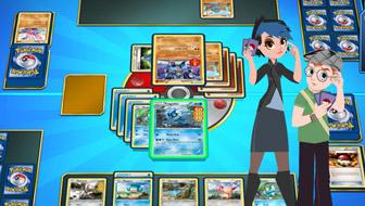 playing pokemon card game online free