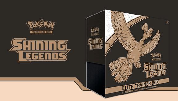 Generations Elite Trainer Box Verzegelde boosters POKEMON TCG Shining Legends Elite Trainer Box
