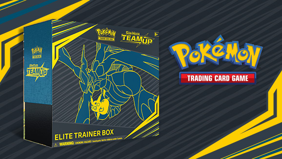 SM TEAM UP PIKACHU /& ZEKROM ELITE TRAINER SLEEVES//DICE//DIVIDERS Pokemon