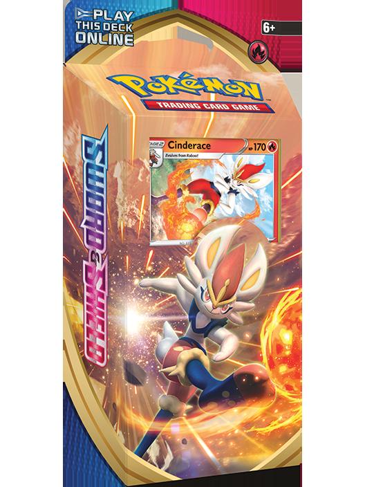 Pokémon TCG: <em>Sword & Shield</em> Cinderace Theme Deck