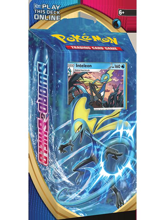 Pokémon TCG: <em>Sword & Shield</em> Inteleon Theme Deck