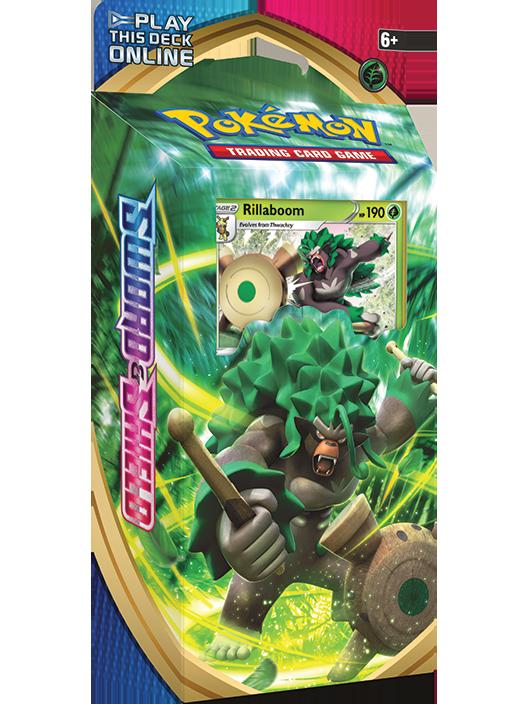 Pokémon TCG: <em>Sword & Shield</em> Rillaboom Theme Deck