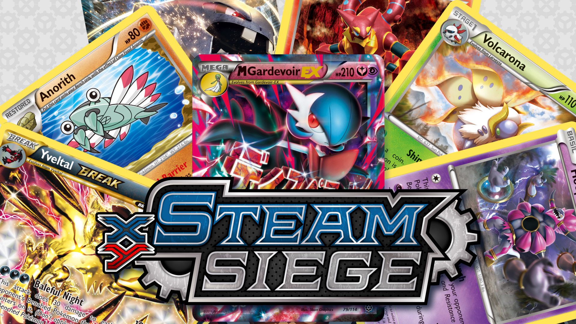 Xy Series Xy Steam Siege Trading Card Game Pokemon Com