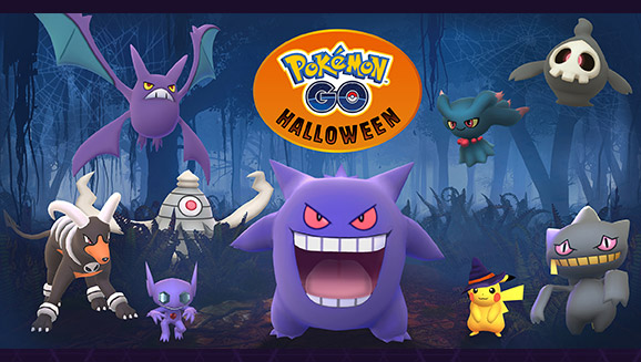 More Pokémon Haunt Pokémon GO This Halloween | Pokemon.com