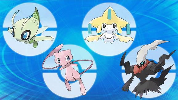 Mythical Pokémon Distribution Round Up Part 1 Pokemoncom
