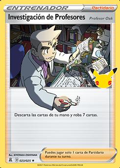 Investigación de Profesores (Profesor Oak)