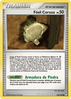 Fósil Coraza