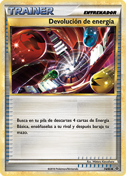 Devolución de energía