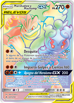Marshadow y Machamp-GX
