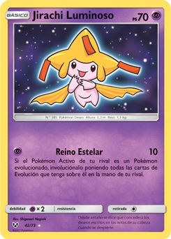 Jirachi Luminoso