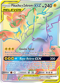 Pikachu y Zekrom-