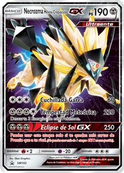 Necrozma Melena Crepuscular-GX