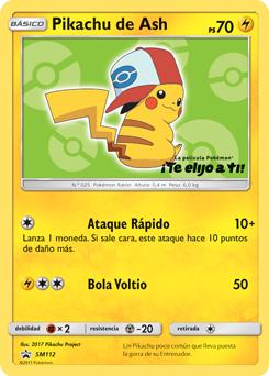 Pikachu de Ash