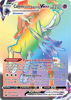 Calyrex Jinete Espectral VMAX