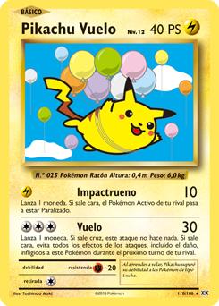 Pikachu Vuelo