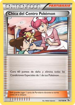 Chica del Centro Pokémon