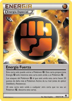 Energía Fuerza XY Puños Furiosos