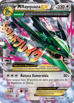 M Rayquaza Ex